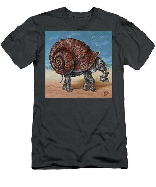 Snailephant Men's T-Shirt (Athletic Fit)