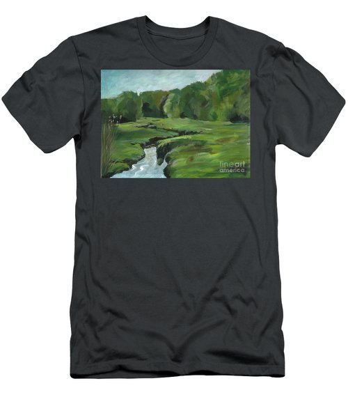 Snake Like Creek 2 Maine Men's T-Shirt (Athletic Fit)