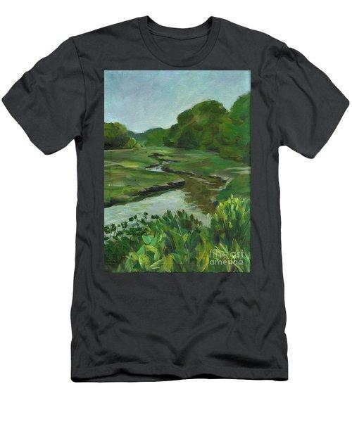 Snake Like Creek I Me Men's T-Shirt (Athletic Fit)
