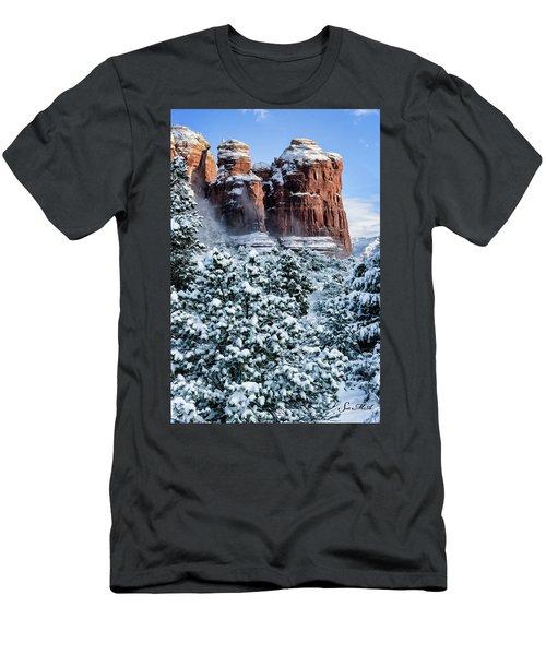 Snow 07-111 Men's T-Shirt (Slim Fit) by Scott McAllister