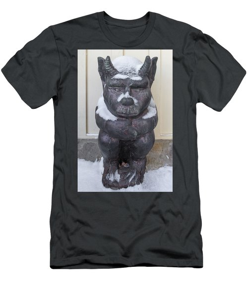 Snow Covered Chimera Men's T-Shirt (Athletic Fit)