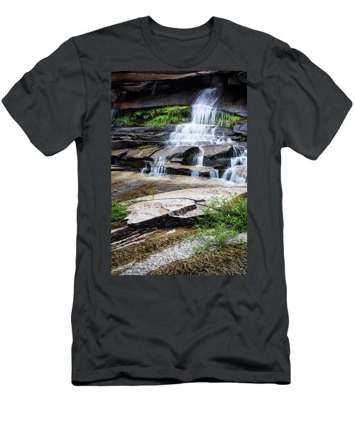 Snow Creek Cascade Men's T-Shirt (Athletic Fit)