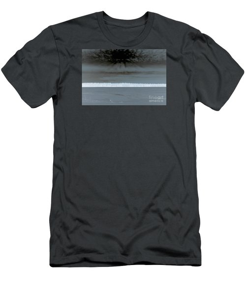 Snow Fences Men's T-Shirt (Athletic Fit)