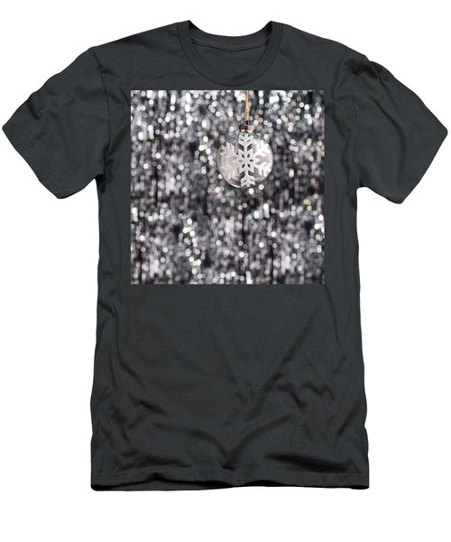 Men's T-Shirt (Slim Fit) featuring the photograph Snow Flake by Ulrich Schade