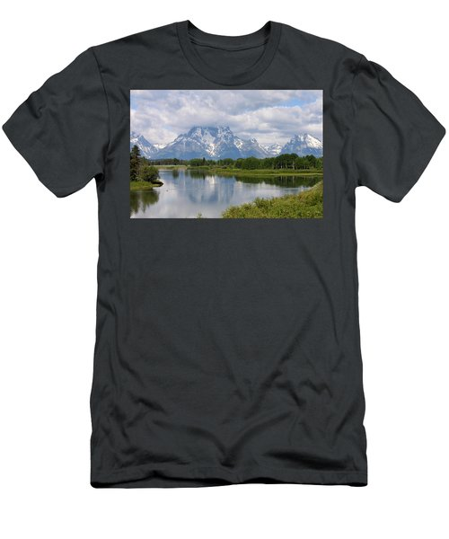 Snow In July Men's T-Shirt (Athletic Fit)