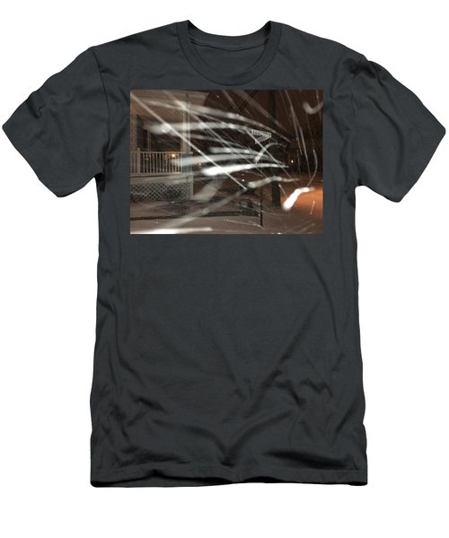 Snow On Coulter Men's T-Shirt (Athletic Fit)