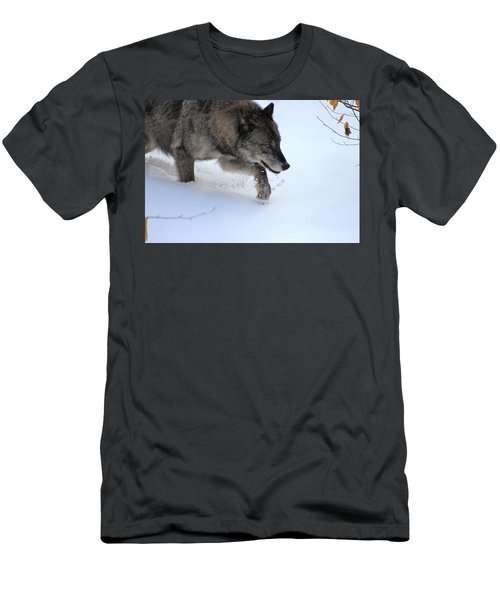 Snow Walker Men's T-Shirt (Athletic Fit)
