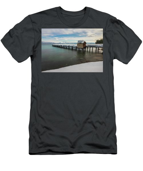 Snow White Pier Men's T-Shirt (Athletic Fit)