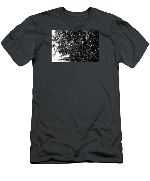 Men's T-Shirt (Athletic Fit) featuring the photograph Snow by Yulia Kazansky