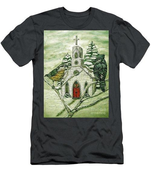 Snowbirds Visit St. Paul Men's T-Shirt (Slim Fit) by Kim Jones
