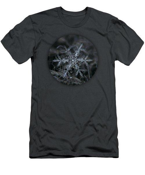 Snowflake 2 Of 19 March 2013 Men's T-Shirt (Slim Fit) by Alexey Kljatov