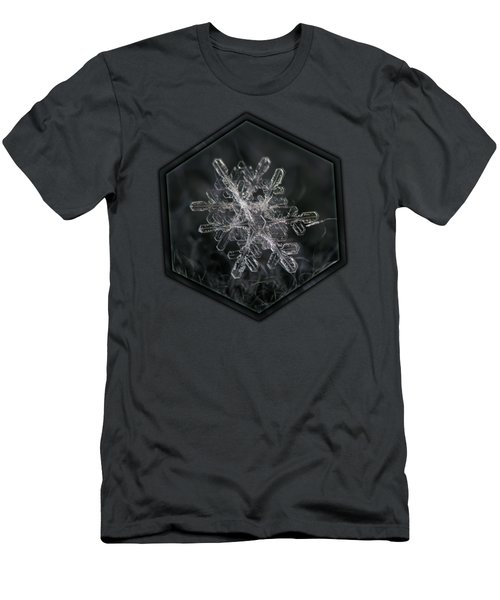 Snowflake Photo - January 18 2013 Grey Colors Men's T-Shirt (Athletic Fit)