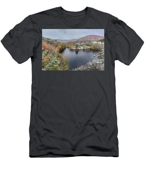 Men's T-Shirt (Slim Fit) featuring the photograph Snowliage by Bill Wakeley