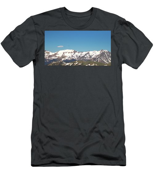 Snowtop Mountains Men's T-Shirt (Athletic Fit)