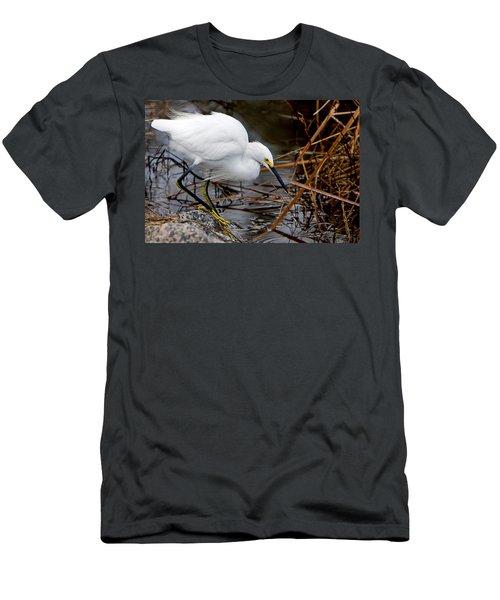 Snowy Egret Egretta Men's T-Shirt (Athletic Fit)