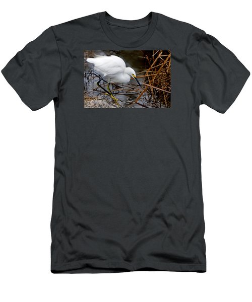 Snowy Egret Egretta Men's T-Shirt (Athletic Fit)