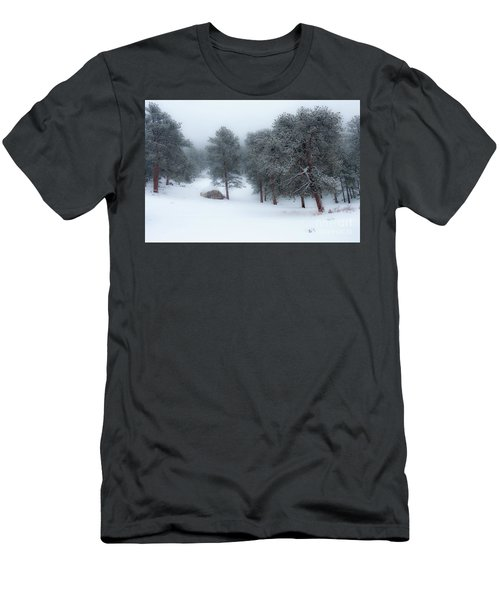 Snowy Morning - 0622 Men's T-Shirt (Athletic Fit)
