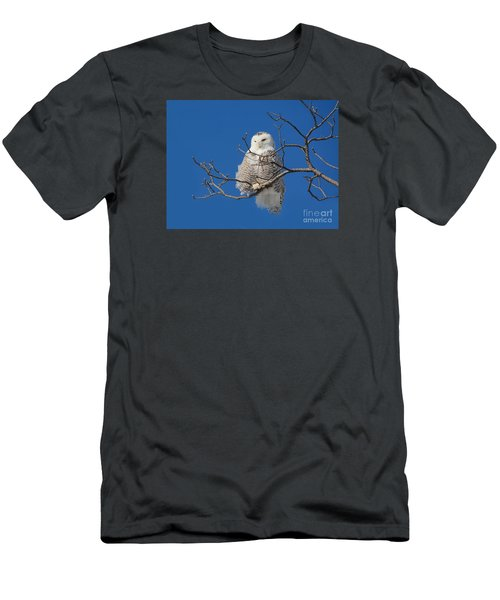 Snowy Owl 7 Men's T-Shirt (Athletic Fit)
