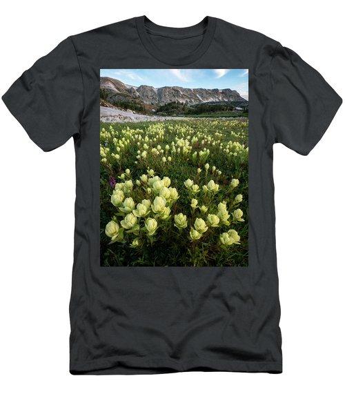 Snowy Range Paintbrush Men's T-Shirt (Athletic Fit)