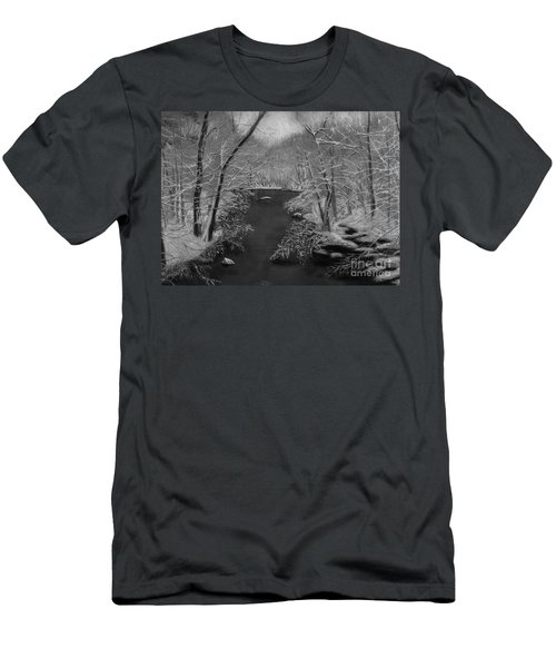 Snowy River Men's T-Shirt (Athletic Fit)