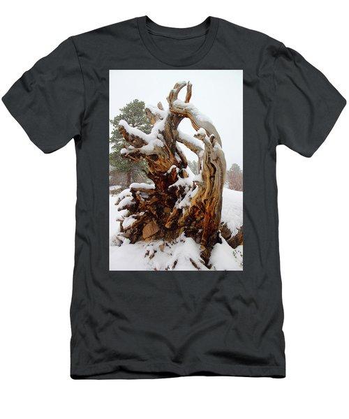 Snowy Roots 2 Men's T-Shirt (Athletic Fit)