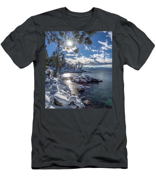 Snowy Tahoe Men's T-Shirt (Athletic Fit)