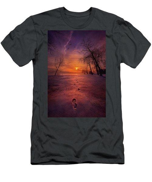 So Close No Matter How Far Men's T-Shirt (Athletic Fit)