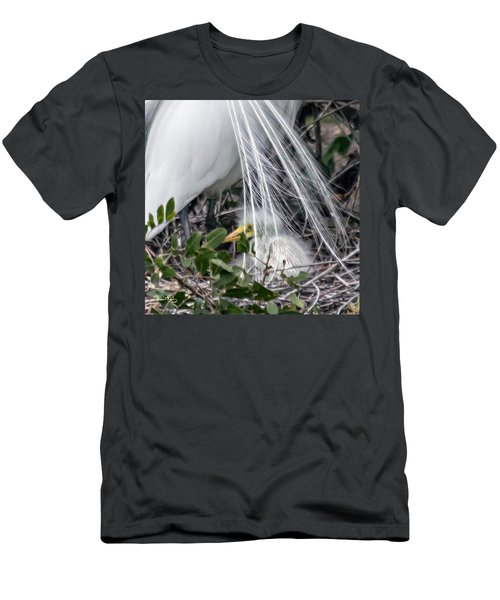 So Safe With Mom 2 Men's T-Shirt (Athletic Fit)