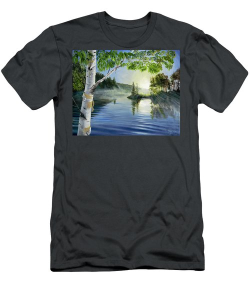 So Tired Of Winter Men's T-Shirt (Athletic Fit)