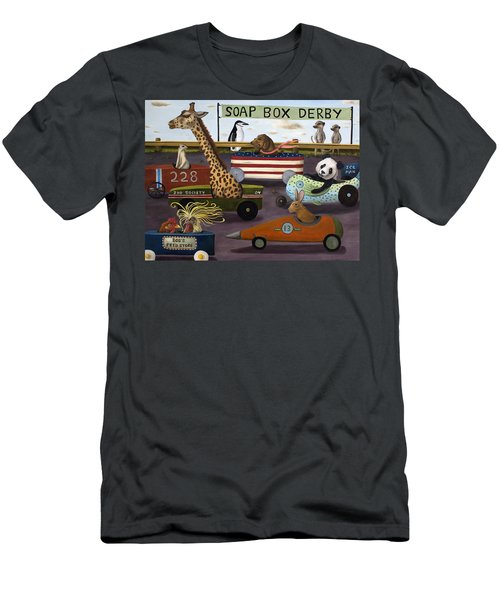 Soap Box Derby Men's T-Shirt (Athletic Fit)