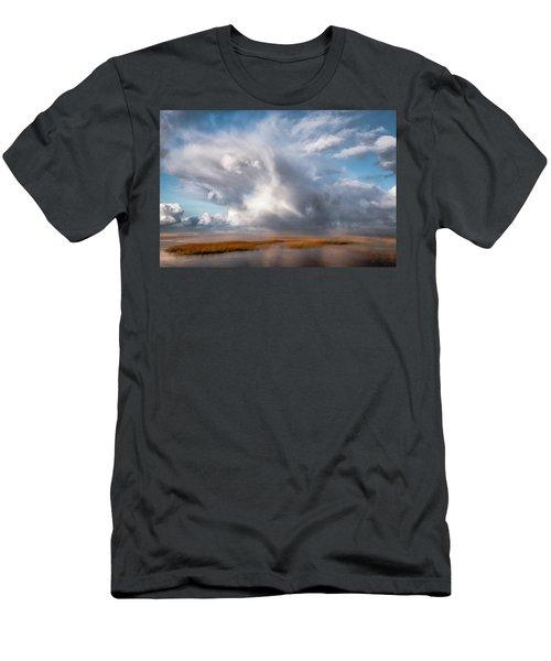 Soaring Clouds Men's T-Shirt (Athletic Fit)