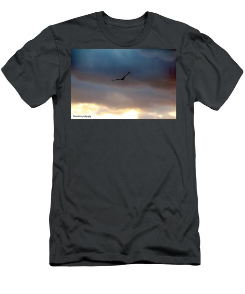 Soaring  Men's T-Shirt (Slim Fit) by Nance Larson