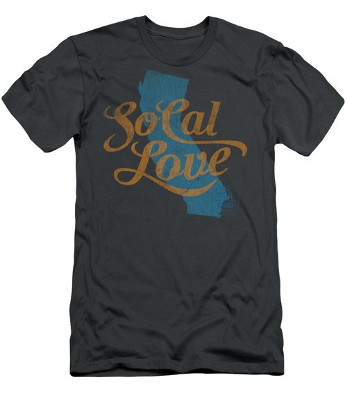 Socal Love Men's T-Shirt (Slim Fit) by Jason Richard