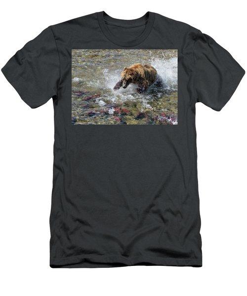 Sockeye In Sight  Men's T-Shirt (Athletic Fit)