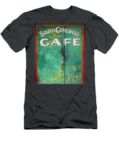 Soco Cafe Doors Men's T-Shirt (Athletic Fit)