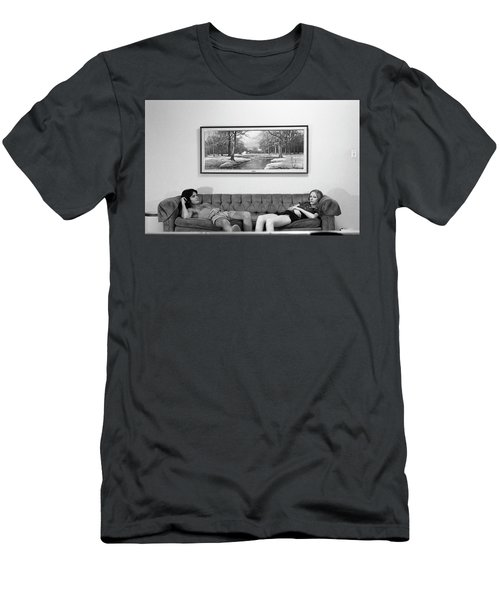 Sofa-sized Picture, With Light Switch, 1973 Men's T-Shirt (Athletic Fit)