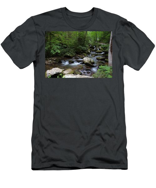 Soft Georgia Stream Men's T-Shirt (Athletic Fit)