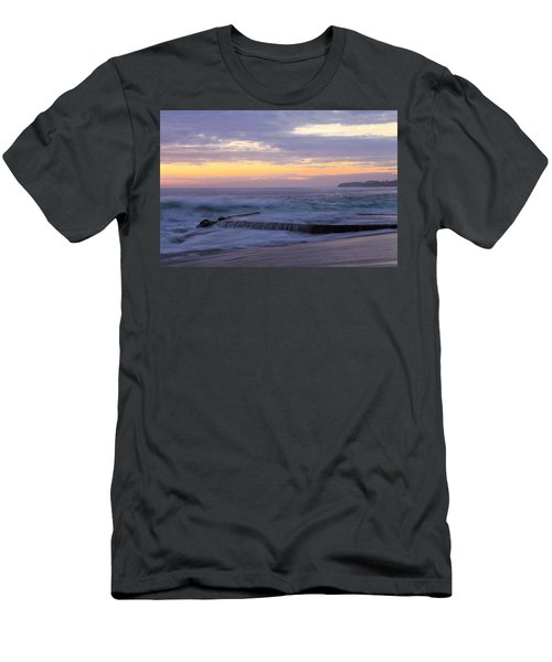Soft Light On Victoria Beach Men's T-Shirt (Slim Fit) by Viktor Savchenko