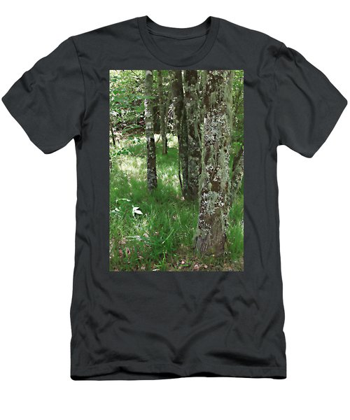Men's T-Shirt (Slim Fit) featuring the photograph Soft Trees by Shari Jardina
