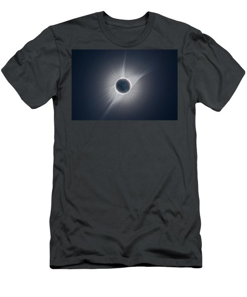Solar Corona During The Eclipse Of August 21 2017 Men's T-Shirt (Athletic Fit)