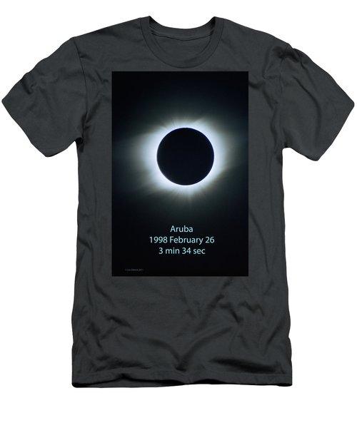 Solar Eclipse Aruba 1998 Men's T-Shirt (Athletic Fit)