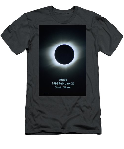 Solar Eclipse Aruba 1998 Men's T-Shirt (Athletic Fit)