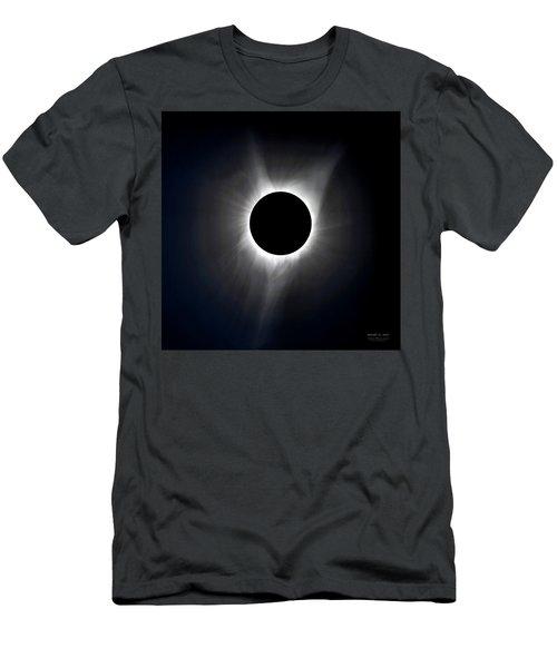 Solar Eclipse Totality Corona Men's T-Shirt (Athletic Fit)