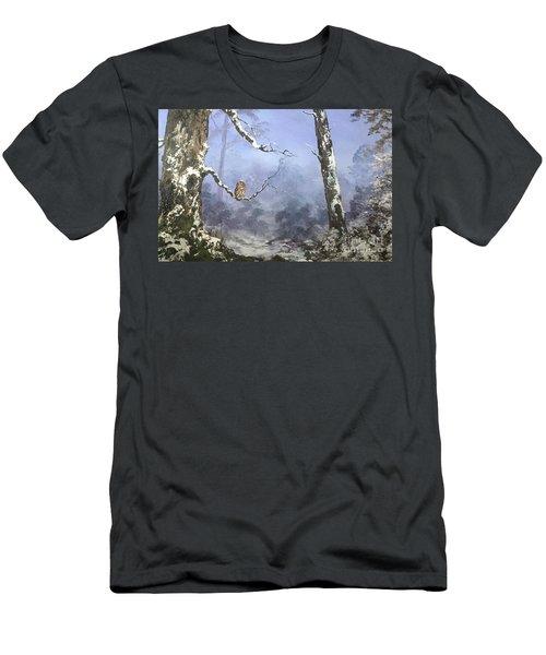 Solitude Men's T-Shirt (Slim Fit) by Jean Walker