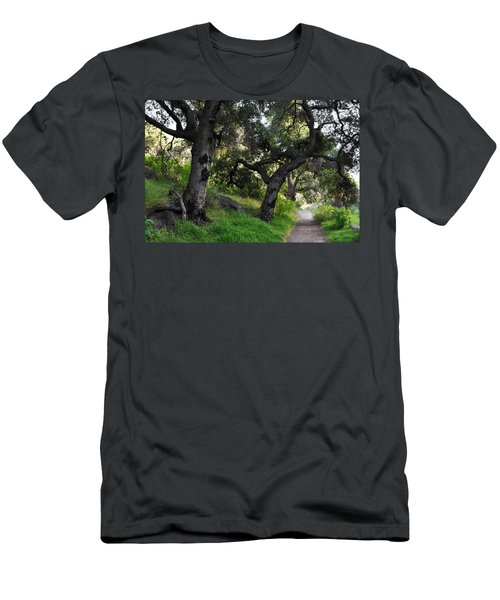 Solstice Canyon Live Oak Trail Men's T-Shirt (Athletic Fit)