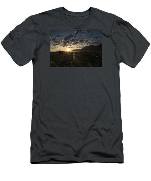 Solstice On The Slope Men's T-Shirt (Athletic Fit)