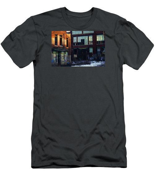 Solvay Coke Men's T-Shirt (Slim Fit) by David Blank