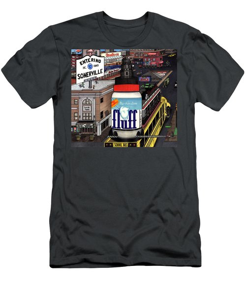 A Strange Day In Somerville  Men's T-Shirt (Slim Fit) by Richie Montgomery