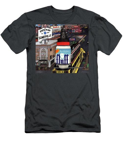 A Strange Day In Somerville  Men's T-Shirt (Athletic Fit)