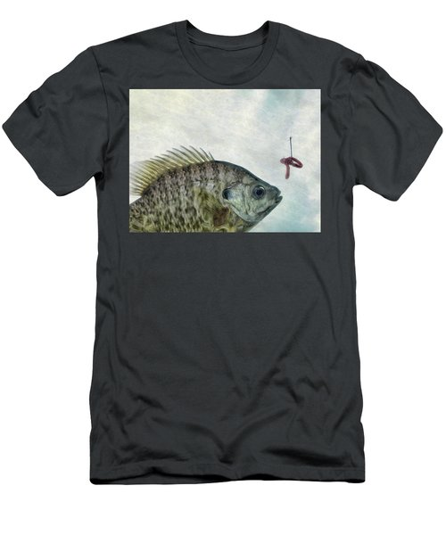 Men's T-Shirt (Slim Fit) featuring the photograph Something Fishy by Mark Fuller